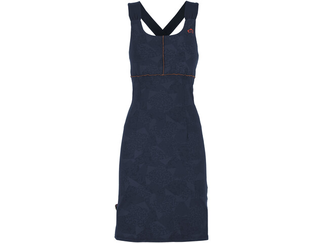 E9 Sele Dress Women blue navy